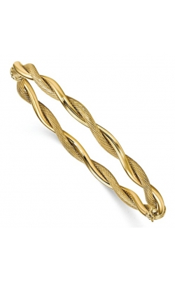 Morgans Textured and Polished Twist Bangle LF904 product image