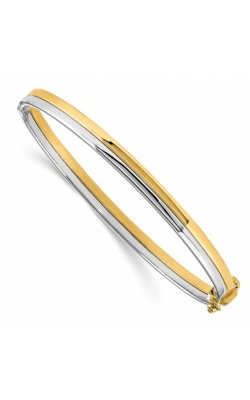 Morgans Two Tone High Polish Bangle LF1200 product image