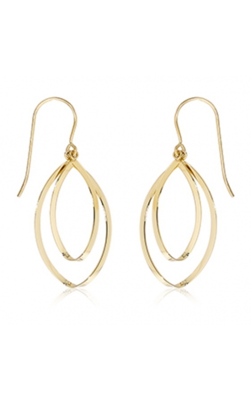 Morgans Mini Oval Concentric Drop Earrings product image