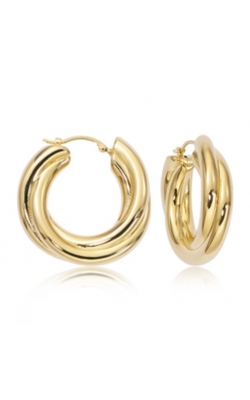 Morgans Triple Twist Hoop Earring  product image