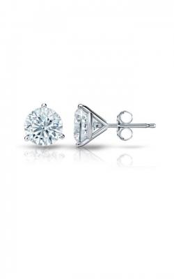Diamond Studs Earrings 14KW3P0.50TWR product image