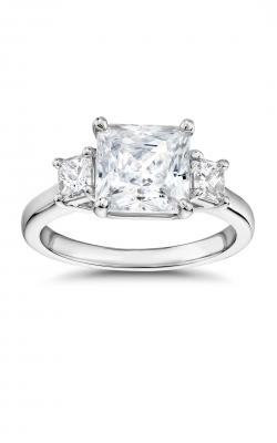 3 Stone Princess Engagement Ring ASW-20614 product image
