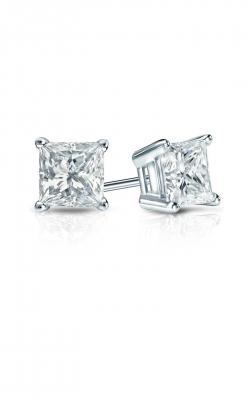 Diamond Studs Earrings 14KW4P0.75TWP product image
