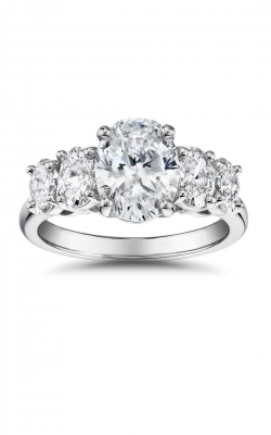 5 Stone Oval Engagement Ring 71067 product image