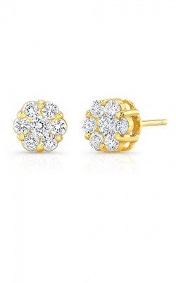 Diamond Cluster Studs AED-30966 product image
