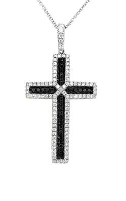 Black and White Diamond Cross ARJ-28256 product image