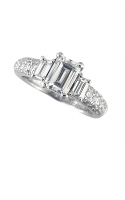 3 Stone Engagement Ring ASW-1131 product image