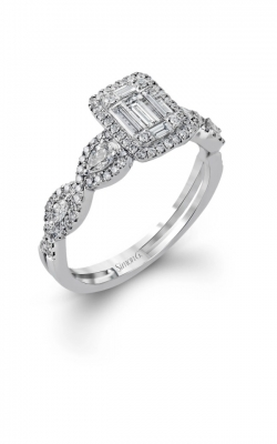 Invisible Set Engagement Ring ASW-24688 product image