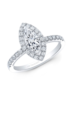 Marquise Engagement Ring ASW-27915 product image