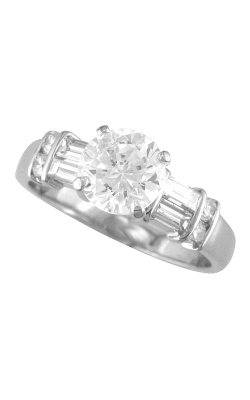 Morgans Side Stone Engagement Ring ASW-7655 product image