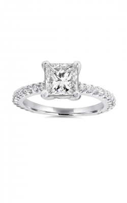 Princess Cut Engagement Ring ASW-9582 product image
