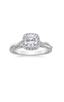 Twisted Halo Engagment Ring product image