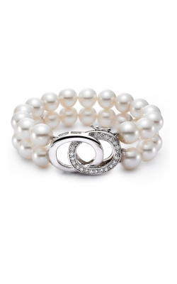Mastoloni Dual Row Pearl Strand BR12009SS-8W product image