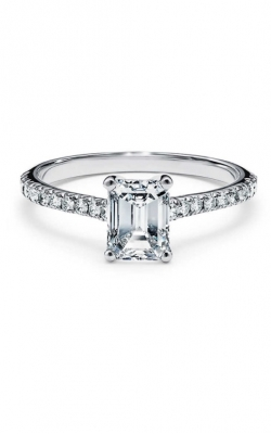 Emerald Cut Engagement Ring ASY-26495 product image