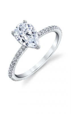 Pear Shape Petite Engagement Ring product image
