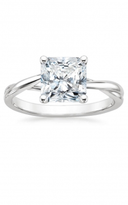 Braided Radiant Cut Engagement Ring product image