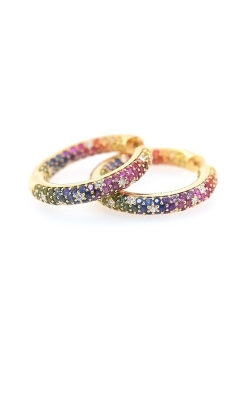 Kimberly Collins Rainbow Sapphire Hoops product image