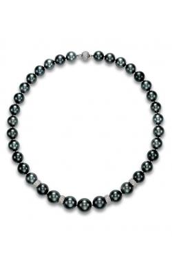 Mastoloni Pave Diamond Tahitian Pearl Strand SBN-3833DR product image