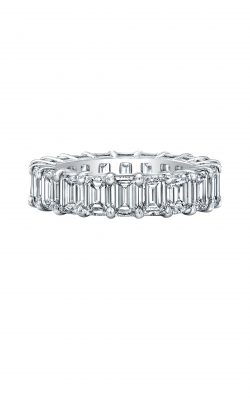 Emerald Cut Diamond Eternity Band AWL-29916 product image