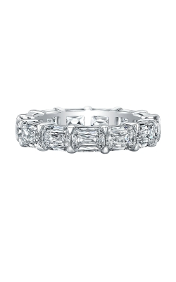 Lengthwise Emerald Cut Diamond Eternity Band product image