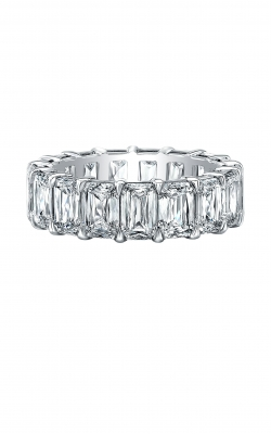 Emerald Cut Diamond Eternity Band AWL-29913 product image