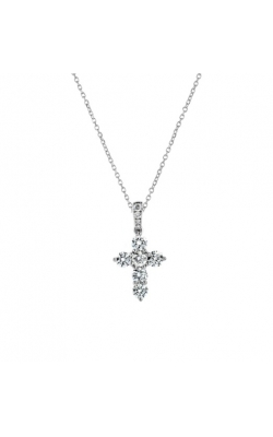 ODELIA  PETITE DIAMOND CROSS PENDANT ACR-14185 product image