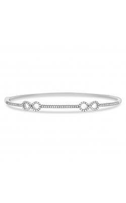 Odelia Dual Infinity Diamond Bangle ALB-12760 product image