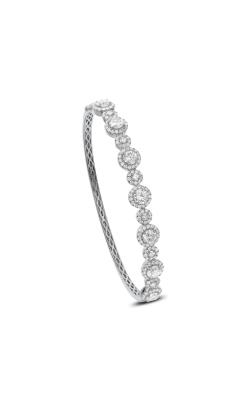 Odelia Diamond Halo Bangle ALB-14308 product image