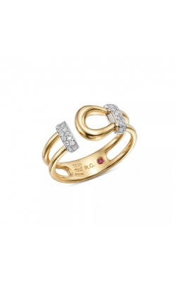 Roberto Coin Open Cheval Pave Ring ALD-27451 product image