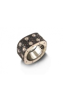 Roberto Coin Black And White Pave Princess Ring ALD-25702 product image