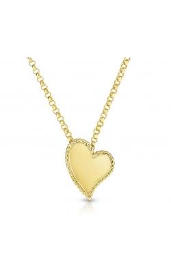 Roberto Coin Oblique Heart Pendant GPE-27938 product image