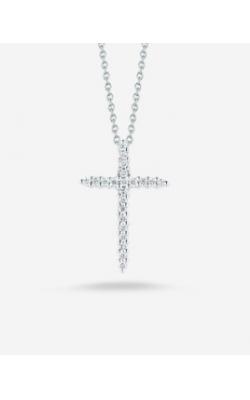 Roberto Coin Thin Diamond Cross ARJ-27929 product image