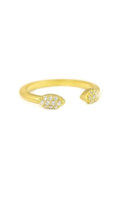 Split Pave Petal Ring AWL-29822 product image