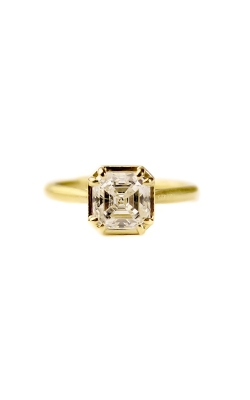 SIGNATURE PRONG ASSCHER DIAMOND RING product image