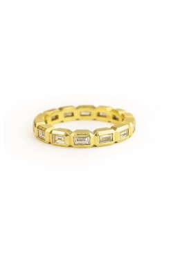 Geo Baguette Eternity Band product image