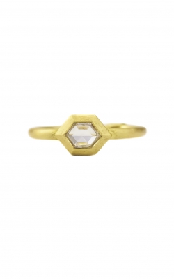 GEO BEZEL HEX RING product image