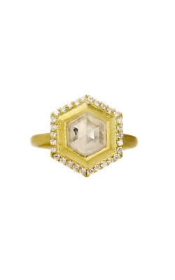 Geo Hex Halo Ring product image