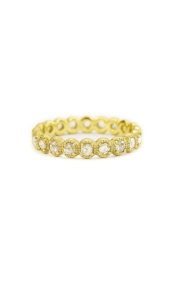 Mini Beaded Bezel Diamond Band product image