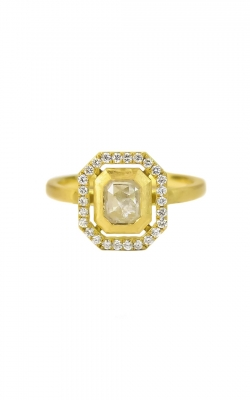RUSTIC ASSCHER DIAMOND RING product image